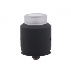 XFKM 24mm RDA Rebuildable Dripping Atomizer w/BF Pin - Black