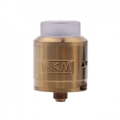 XFKM 24mm RDA Rebuildable Dripping Atomizer w/BF Pin - Gold