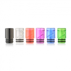 Replacement 510 Arcylic Drip Tip 10mm (6pcs) - Random Color