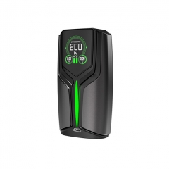 Pre-Sale Authentic Wotofo Flux 200W VW Variable Wattage Box Mod - Gun Metal