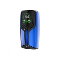 Pre-Sale Authentic Wotofo Flux 200W VW Variable Wattage Box Mod - Blue