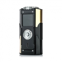 Authentic SXmini T Class SX580J 200W TC VW Variable Wattage Box Mod - Black Shadow Golden
