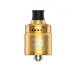 Authentic Ammit 22mm MTL RDA Rebuildable Dripping Atomizer w/ BF Pin - Gold