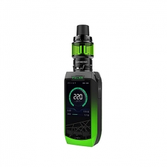 Authentic Vaporesso Polar 220W TC VV VW APV Box Mod Kit (Standard Edition) - Green