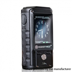 Pre-Sale Authentic ModeFined Draco 200W TC Temperature Control VV/VW Box Mod - Black