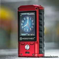 Pre-Sale Authentic ModeFined Draco 200W TC Temperature Control VV/VW Box Mod - Red