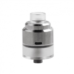 Biatch Style 22mm 304SS RDTA Rebuildable Dripping Tank Atomizer 1.5ml - Silver