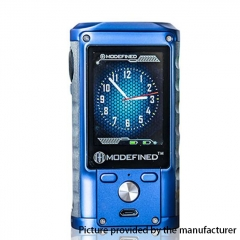 Pre-Sale Authentic ModeFined Draco 200W TC Temperature Control VV/VW Box Mod - Blue