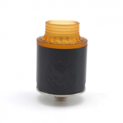 Phobia Style 24mm RDA Rebuildable Dripping Atomizer w/ BF Pin - Black