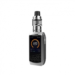 Authentic Vaporesso Polar 220W TC VV VW APV Box Mod Kit (Standard Edition) - Silver