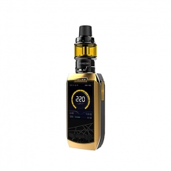Authentic Vaporesso Polar 220W TC VV VW APV Box Mod Kit (Standard Edition) - Gold