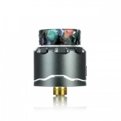 Authentic Asmodus C4 BF 24mm RDA Rebuildable Dripping Atomizer w/BF Pin - Gray