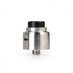 Authentic CoilART DPRO Mini 22mm RDA Rebuildable Dripping Atomizer w/BF Pin - Silver