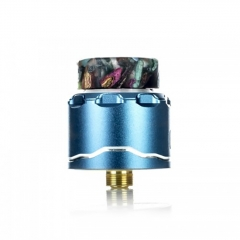 Authentic Asmodus C4 BF 24mm RDA Rebuildable Dripping Atomizer w/BF Pin - Blue