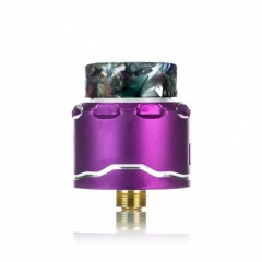 Authentic Asmodus C4 BF 24mm RDA Rebuildable Dripping Atomizer w/BF Pin - Purple
