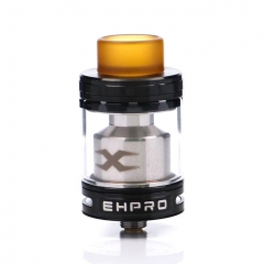 Authentic Ehpro Bachelor X 25mm RTA Rebuildable Tank Atomizer 3.5ml/5ml - Black