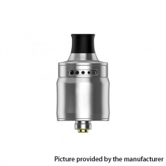 Ammit Style 22mm MTL RDA Rebuildable Dripping Atomizer w/ BF Pin - Silver