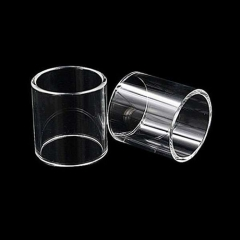 Replacement Glass Tank for ULTON Typhoon GT4 Atomizer 2pcs (Transparent Edition)
