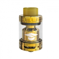 Authentic Ehpro Bachelor X 25mm RTA Rebuildable Tank Atomizer 3.5ml/5ml - Gold