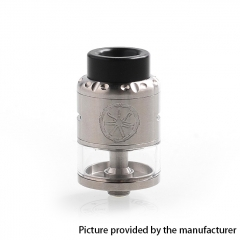 Authentic Asmodus Nefarius 25mm TF / BF RDTA Rebuildable Dripping Tank Atomizer w/ BF Pin 4ml - Silver
