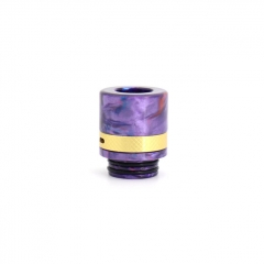 Authentic Clrane 810 Replacement Drip Tip Aluminum + Resin 17mm - Purple