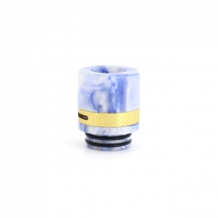 Authentic Clrane 810 Replacement Drip Tip Aluminum + Resin 17mm - Blue