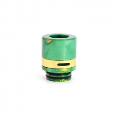 Authentic Clrane 810 Replacement Drip Tip Aluminum + Resin 17mm - Green