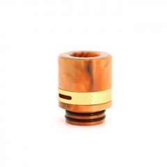 Authentic Clrane 810 Replacement Drip Tip Aluminum + Resin 17mm - Orange