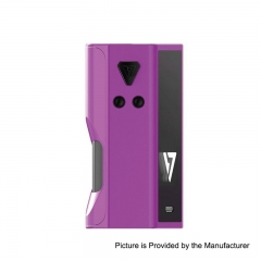 Authentic Desire Cut 108W 18650/21700 TC VW Variable Wattage Squonk Box Mod - Purple