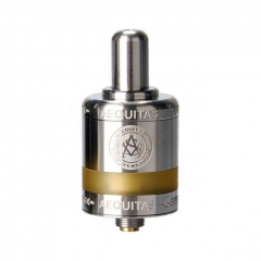 (Ships from Germany)Authentic Asvape Zeta 22mm RTA Rebuildable Tank Atomizer 2.5ml - Silver