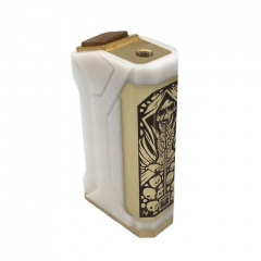Doomsday Style 18650 Mechanical Mod - White