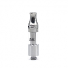 Tiny 11mm Tank Clearomizer 0.5ml w/ BF Pin - Silver