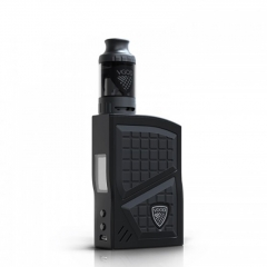 Authentic VGOD Pro 200W TC VW Variable Wattage Box Mod + VGOD Pro SubTank Kit(0.2ohm/4ml) - Black