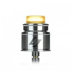 Authentic Hotcig Hades 24mm RDA Rebuildable Dripping Atomizer w/BF Pin - Silver