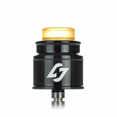 Authentic Hotcig Hades 24mm RDA Rebuildable Dripping Atomizer w/BF Pin - Black