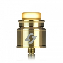 Authentic Hotcig Hades 24mm RDA Rebuildable Dripping Atomizer w/BF Pin - Gold