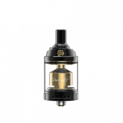 Authentic Fumytech Rose 24mm MTL RTA Rebuildable Tank  Atomizer 3.5ml - Black Gold