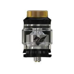 Authentic Wismec Bellerophon 27mm RTA Rebuildable Tank Atomizer 4ml - Black