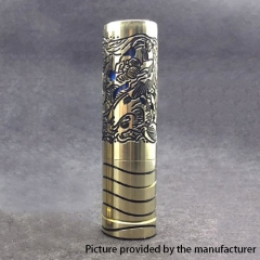 Lysten Pur Serenity Style 18650/20700 Hybrid Mechanical Mod 25mm - Black