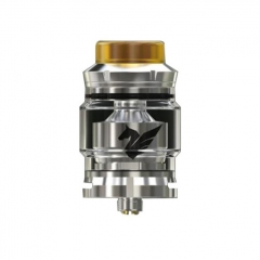 Authentic Wismec Bellerophon 27mm RTA Rebuildable Tank Atomizer 4ml - Silver