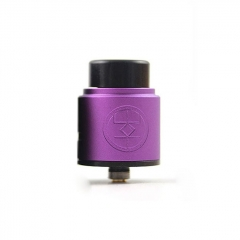 Authentic Advken Breath 24mm RDA Rebuildable Dripping Atomizer w/ BF Pin - Purple