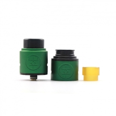 Authentic Advken Breath 24mm RDA Rebuildable Dripping Atomizer w/ BF Pin - Green