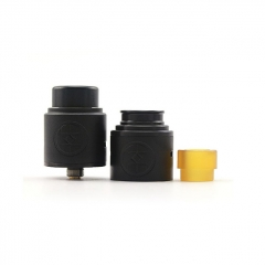 Authentic Advken Breath 24mm RDA Rebuildable Dripping Atomizer w/ BF Pin - Black
