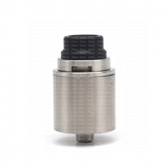 ULTON Raven v2 Style 316SS 22mm RDA Rebuildable Dripping Atomizer w/BF Pin - Silver