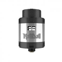 Pre-Sale Authentic Tigertek Nada 25mm RDA Rebuildable Dripping Atomizer w/ BF Pin - SS