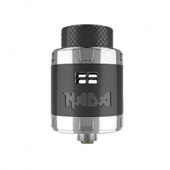 Authentic Tigertek Nada 25mm RDA Rebuildable Dripping Atomizer w/ BF Pin - Black