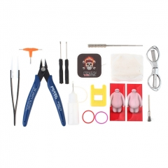 PIRATE Tool Kit for E-Cigarettes (17 Pieces)
