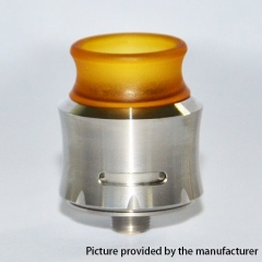 Andromeda Style 304SS 24mm RDA Rebuildable Dripping Atomizer w/BF Pin - Silver