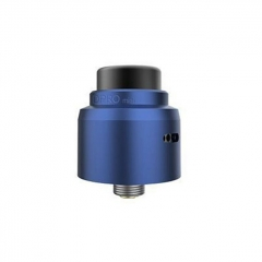 Authentic CoilART DPRO Mini 22mm RDA Rebuildable Dripping Atomizer w/BF Pin - Blue