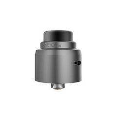 Authentic CoilART DPRO Mini 22mm RDA Rebuildable Dripping Atomizer w/BF Pin - Gray